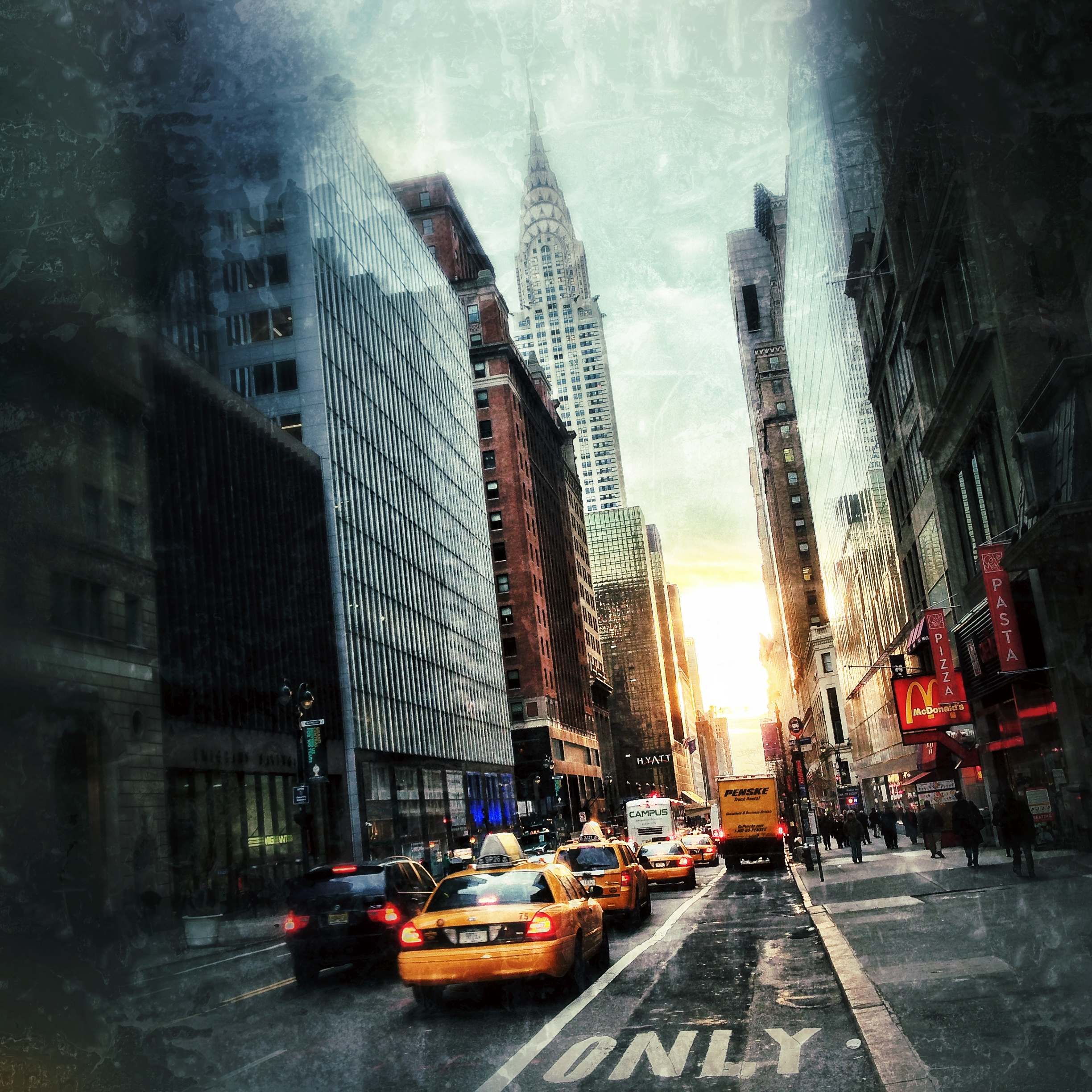 From New York City: File:Sunrise In Midtown, New York City