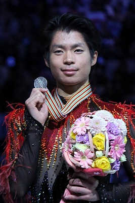 Tatsuki Machida Podium 2014 World Championships