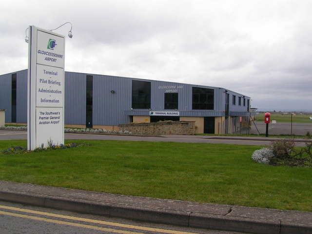 Terminal at Gloucester Airport - geograph.org.uk - 678141