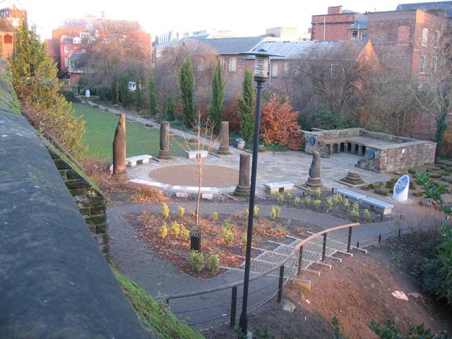 File The Roman Gardens Chester 289500