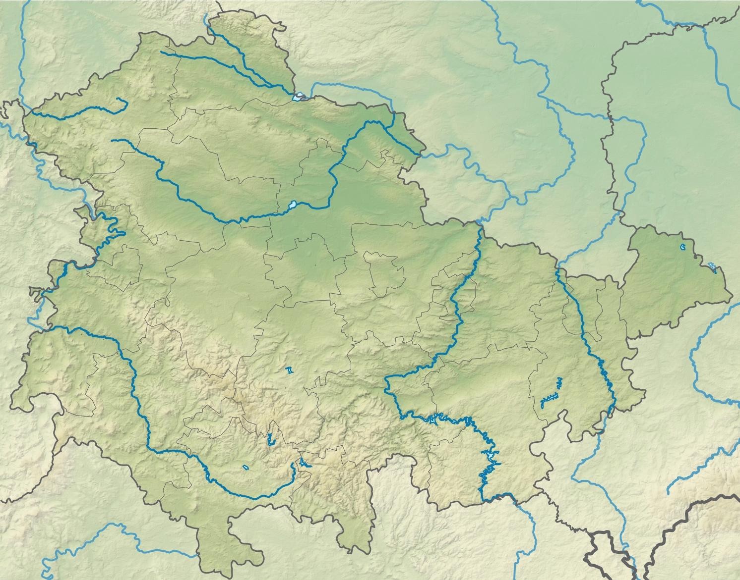Naher Osten Karte Ohne Beschriftung.Nordthüringer Hügelland Wikipedia