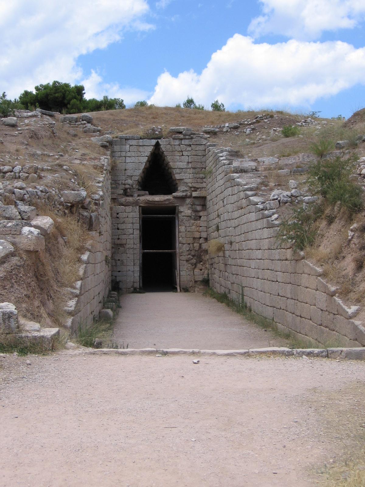 Grab der Klytaimnestra – Wikipedia