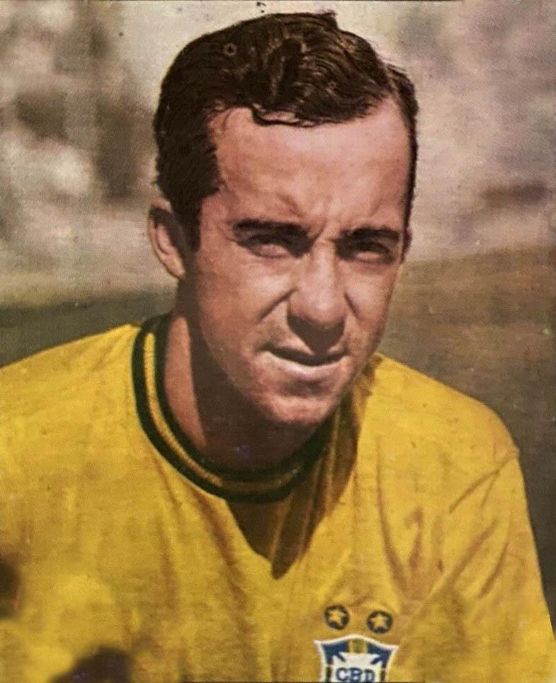 Tostão Brazilian footballer