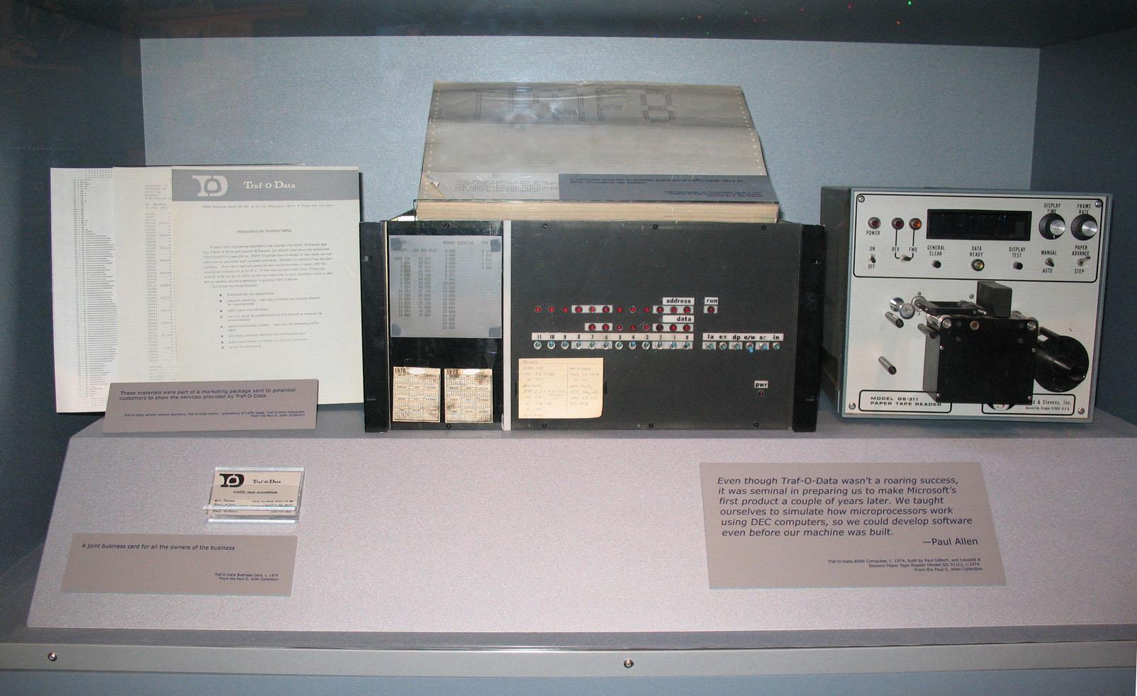 FileTraf O Data Computer