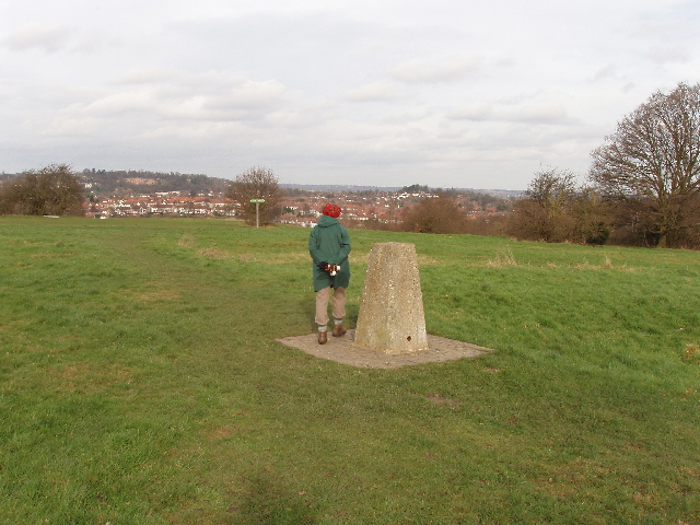 Trig point on Horsenden Hill - geograph.org.uk - 678690