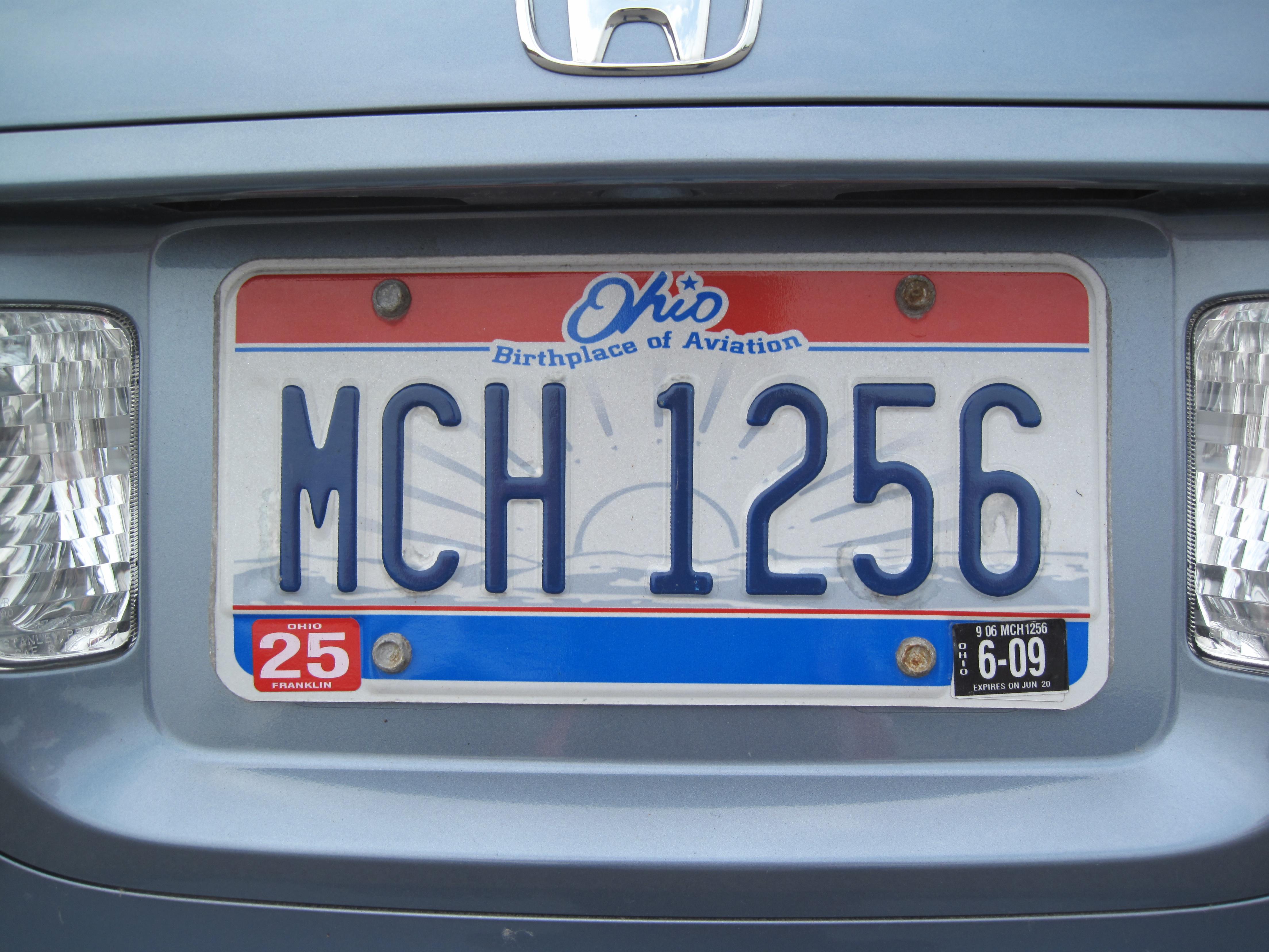 FileUSA Licenseplate OhioJPG
