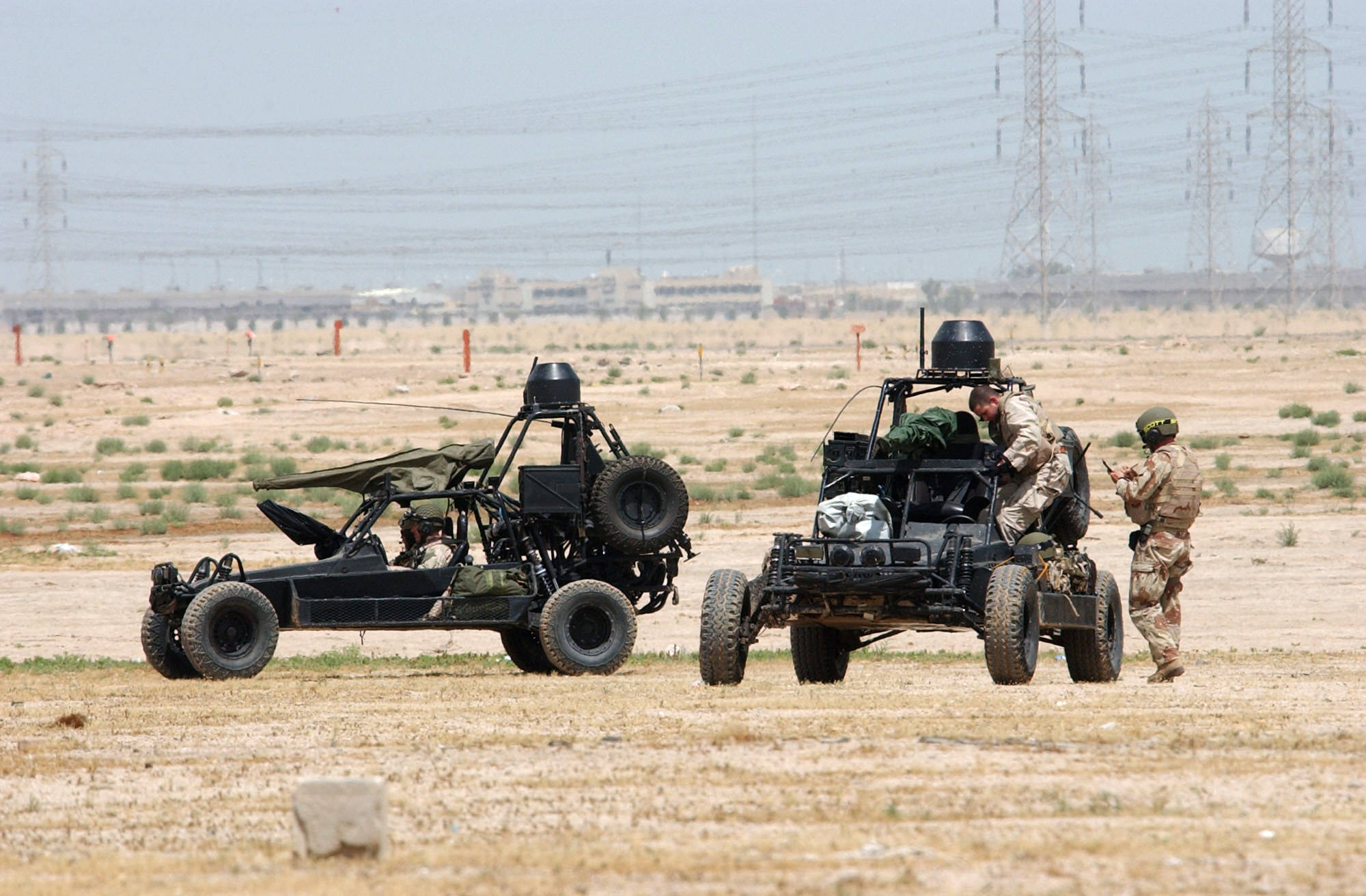 Navy SEAL Desert Patrol Vehicle