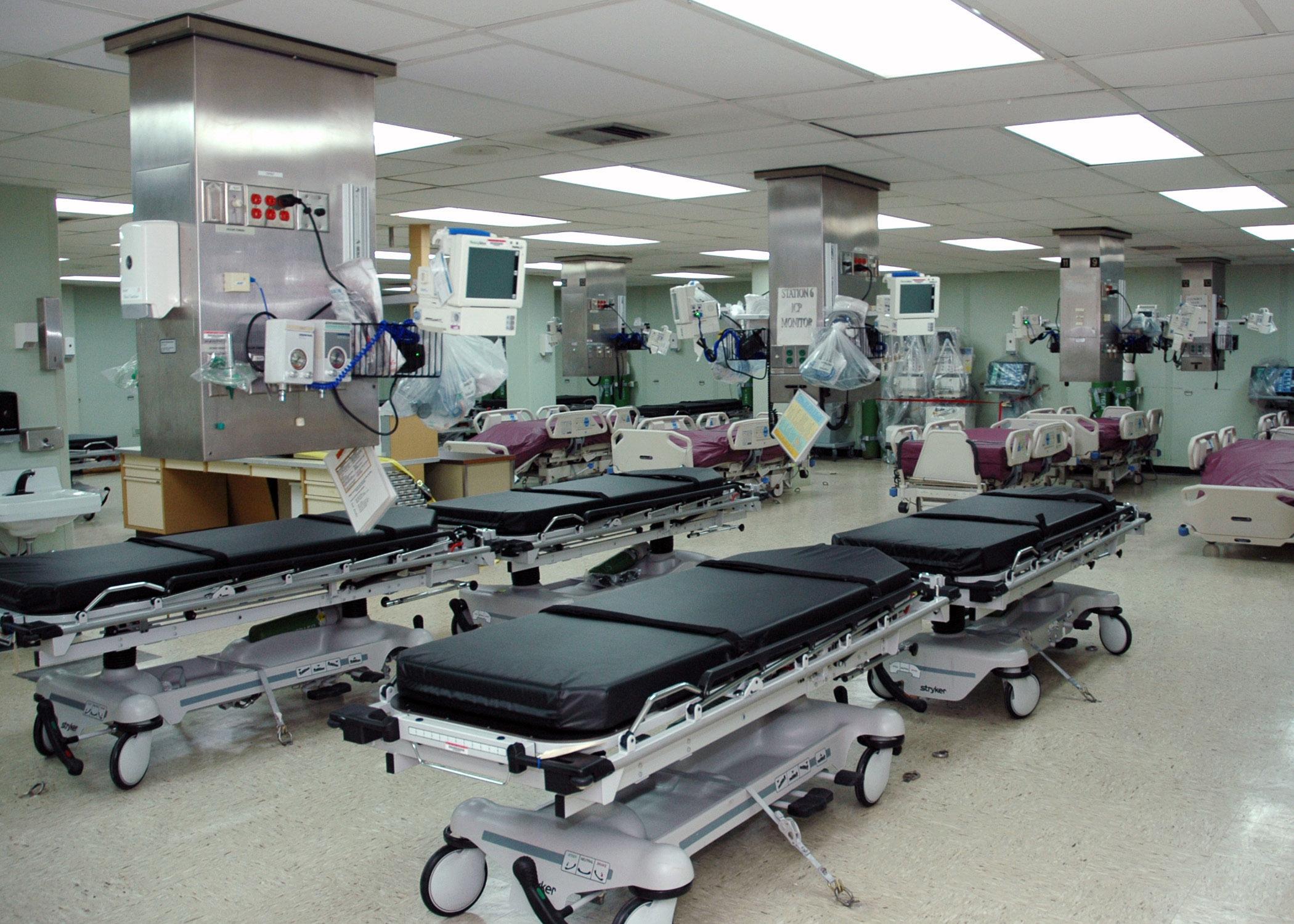 Intensive Care Hospital Room