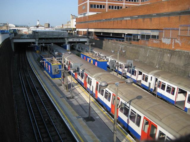 Uxbridge Underground station (1) - geograph.org.uk - 797072