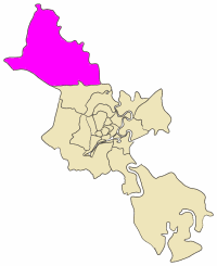 Position in metropolitan area of HCMC