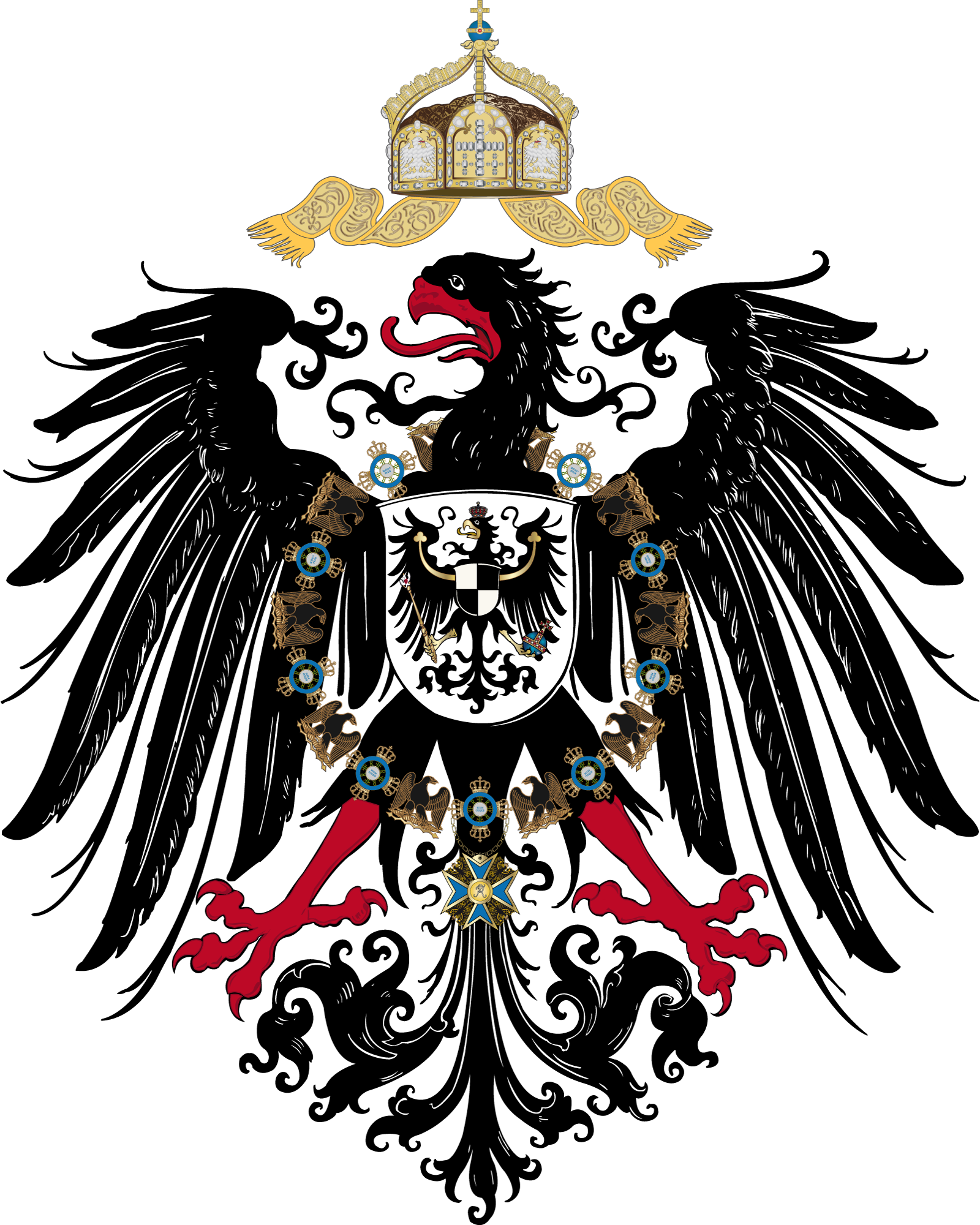 The Coat of Arms of Imperial Germany