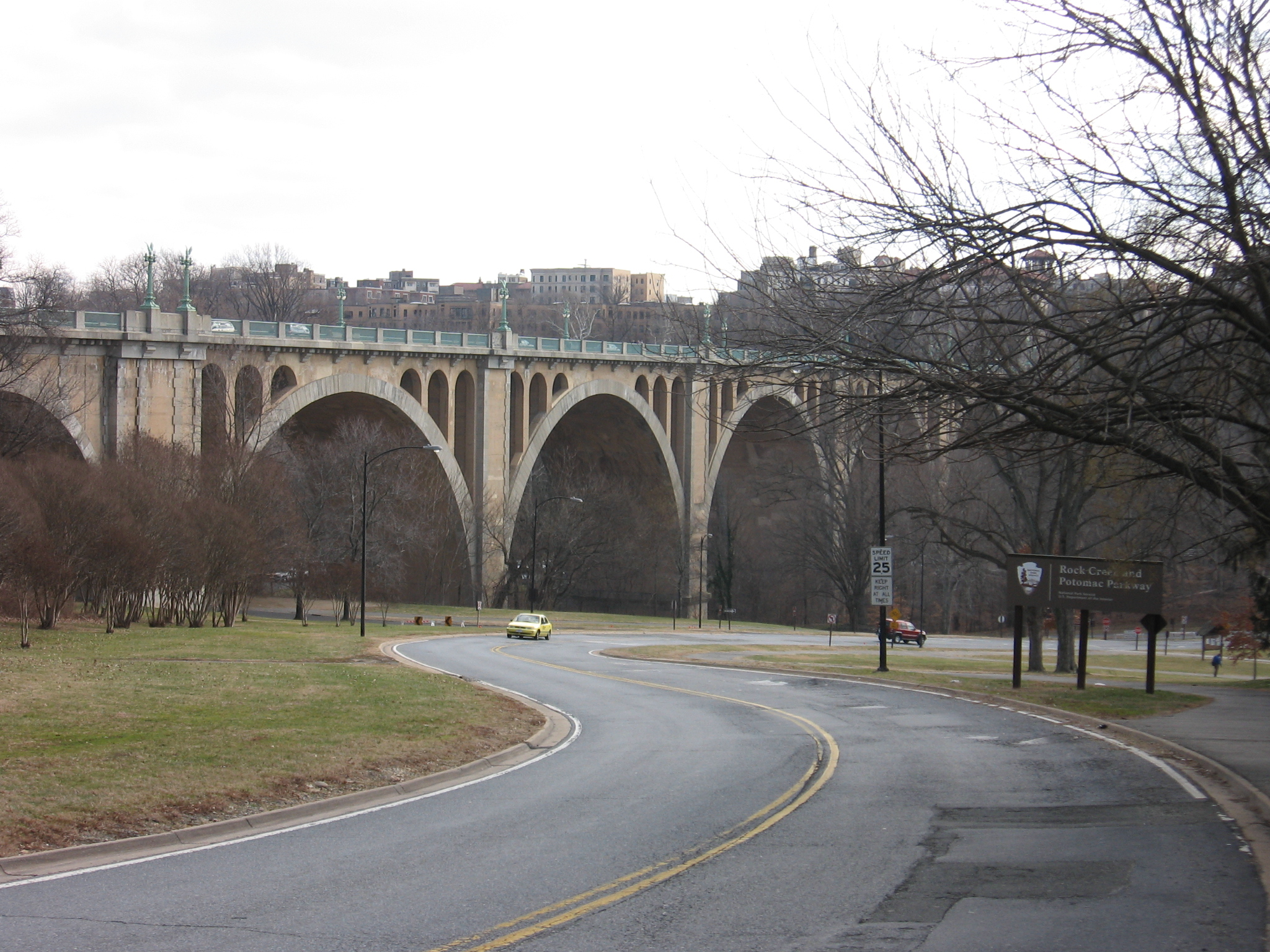 Washington dc taft bridge