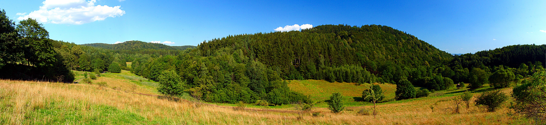 Monte Lopianka, cerca de Wilcza, en los Sudetes.