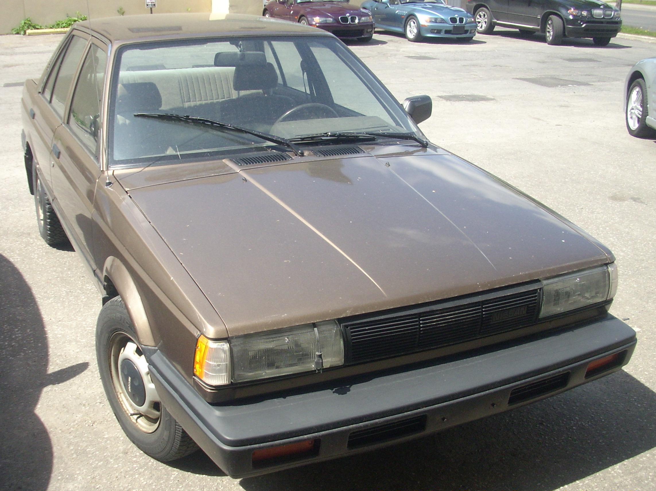 File:'87-'88 Nissan Sentra Sedan.JPG - Wikimedia Commons