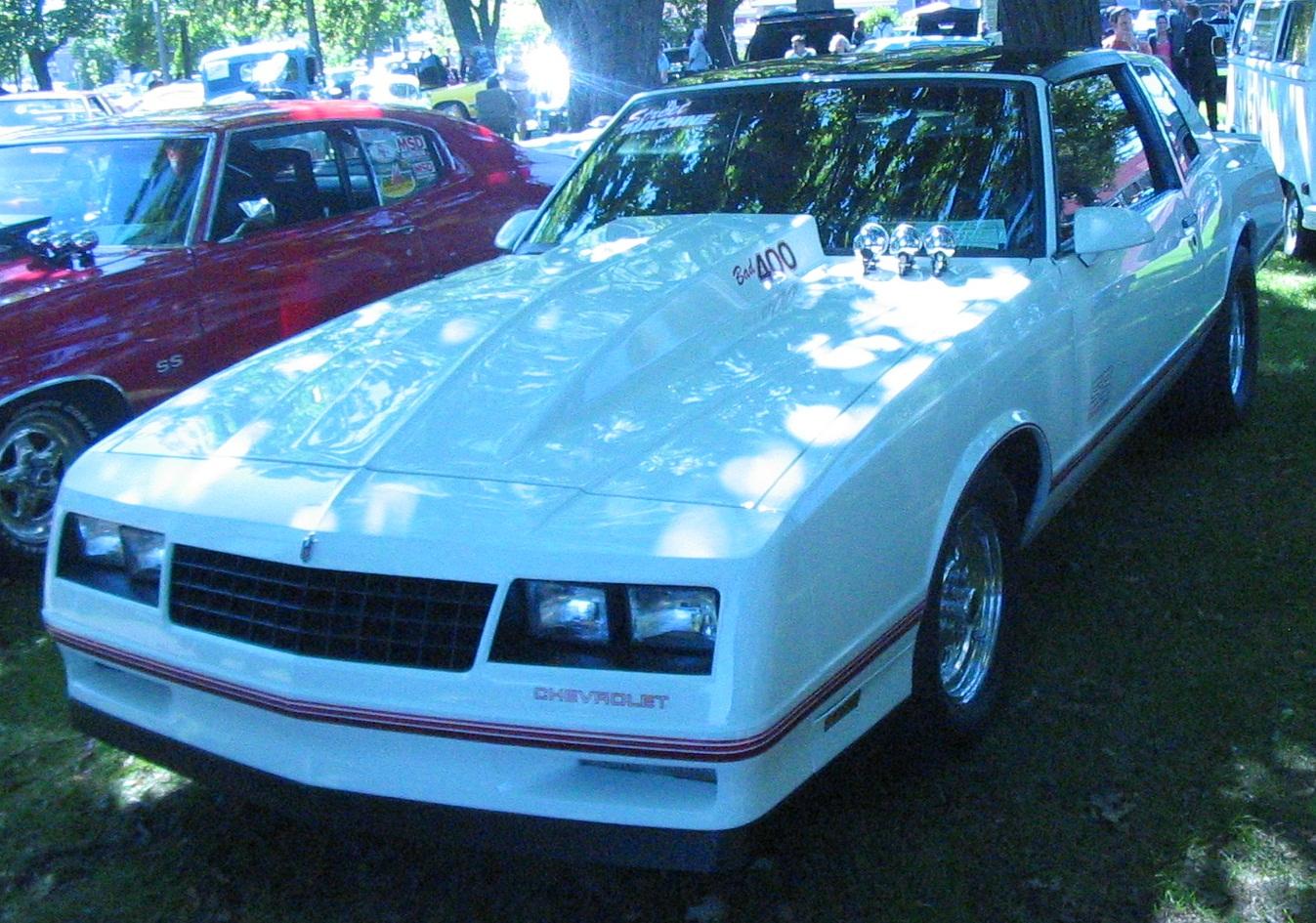 Description '87 Chevrolet Monte Carlo SS (Auto classique Salaberry-De ...