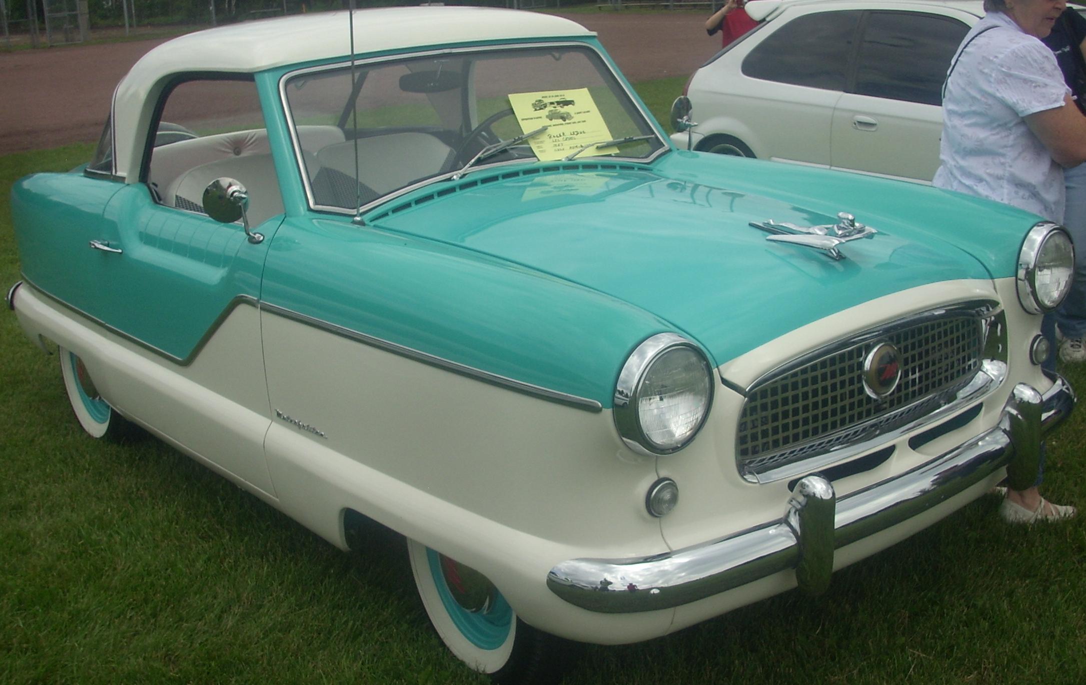 Nash Car: File:'57 Nash Metropolitan Coupe (Auto Classique St