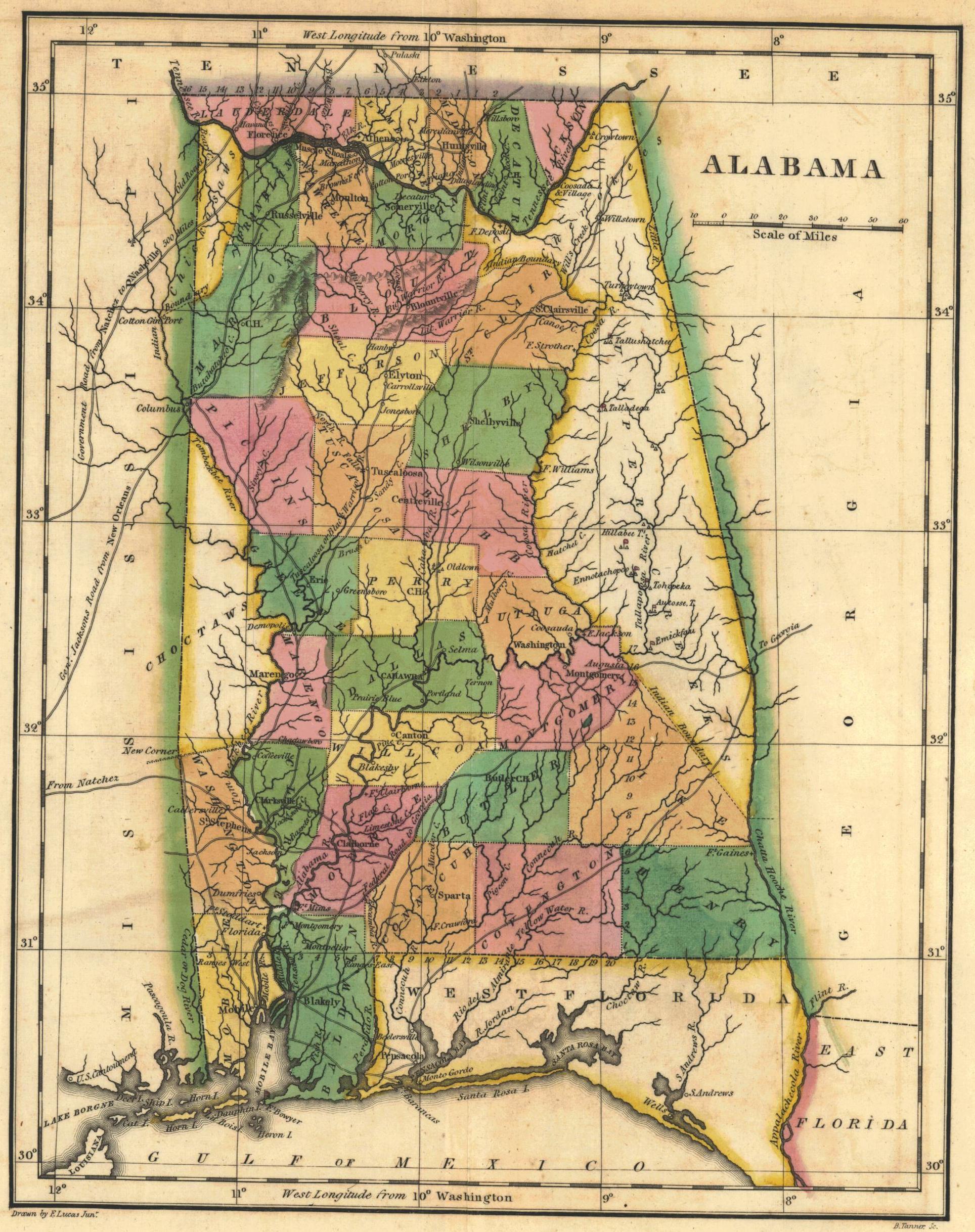 File:1822 Map of Alabama counties.JPG - Wikimedia Commons