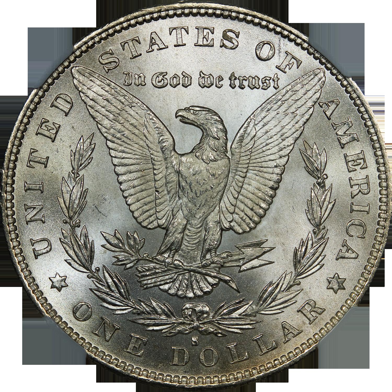 1 Dollar Silver Coin 1896