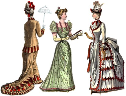1880s Dress Style[edit]