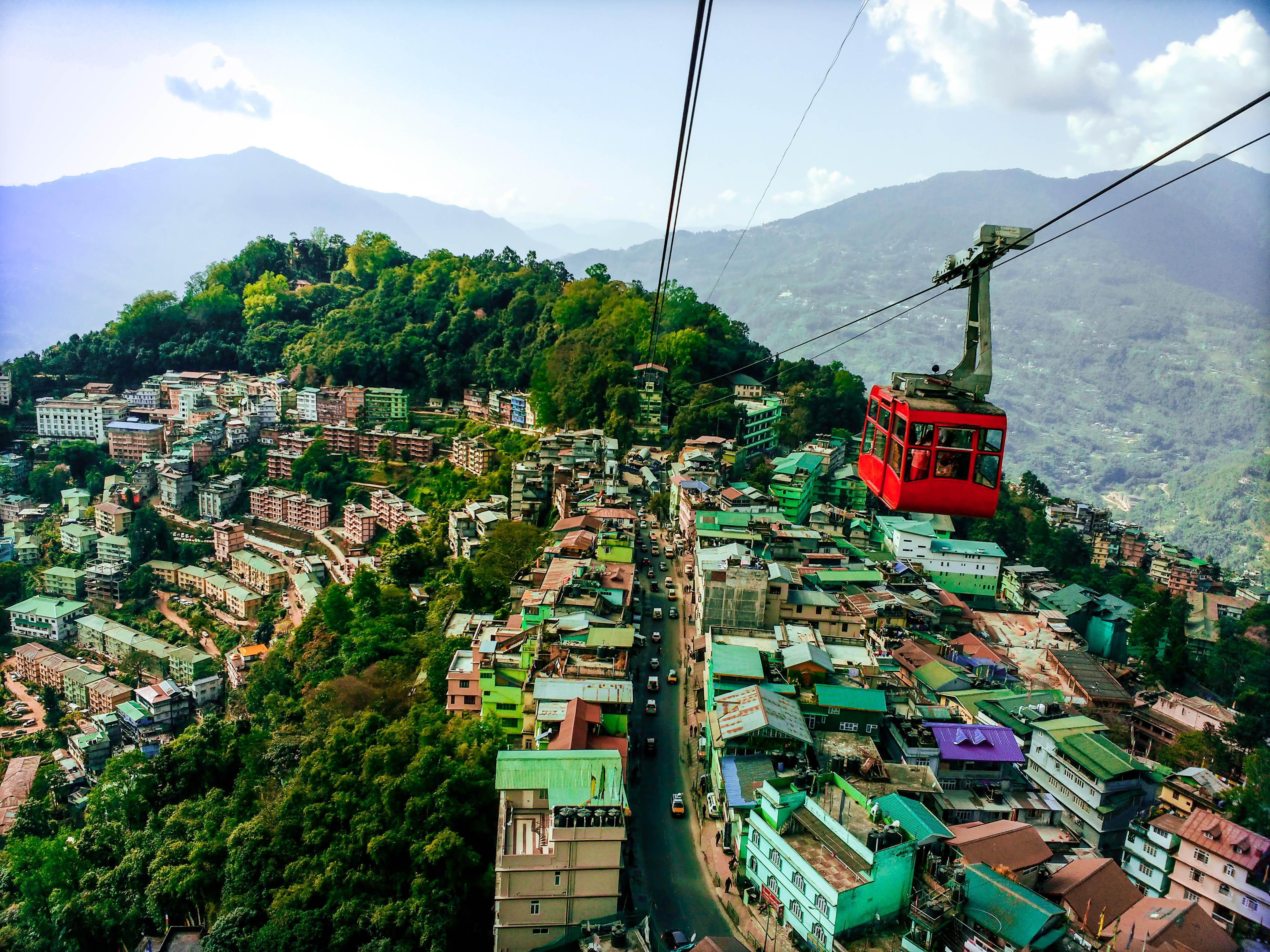 Gangtok, Sikkim in June.