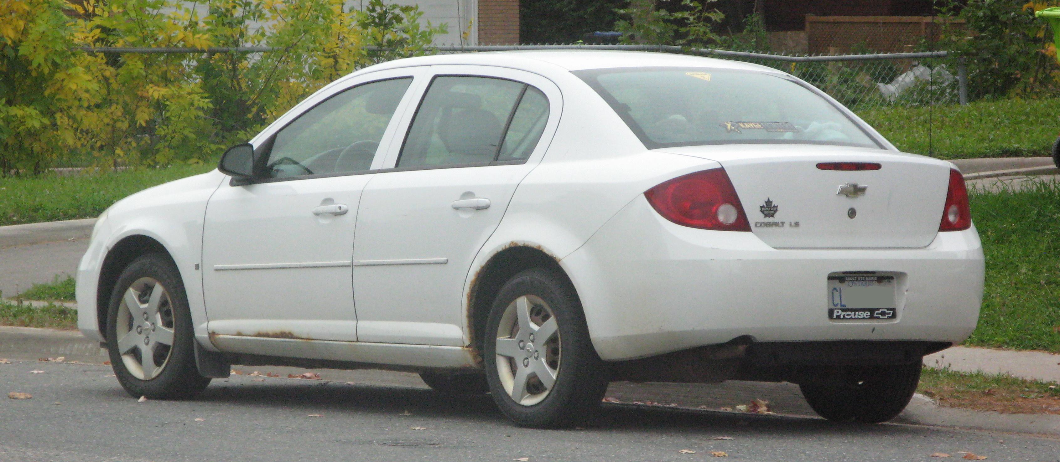 File 2006 Chevrolet Cobalt Ls Rear Left 09 24 2020 Jpg Wikimedia Commons
