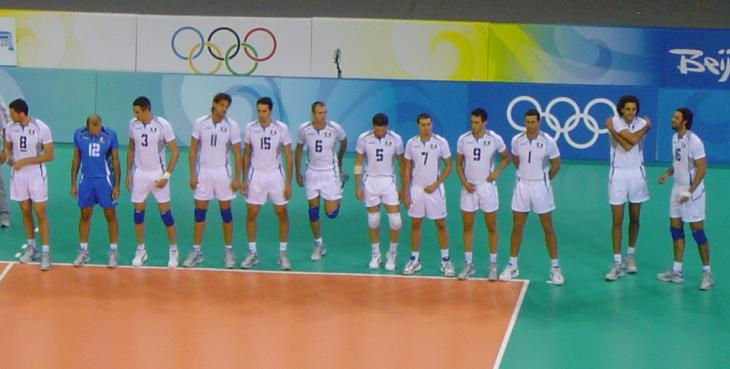 File Olympic Volleyball Team ItalyJpg  Wikimedia Commons