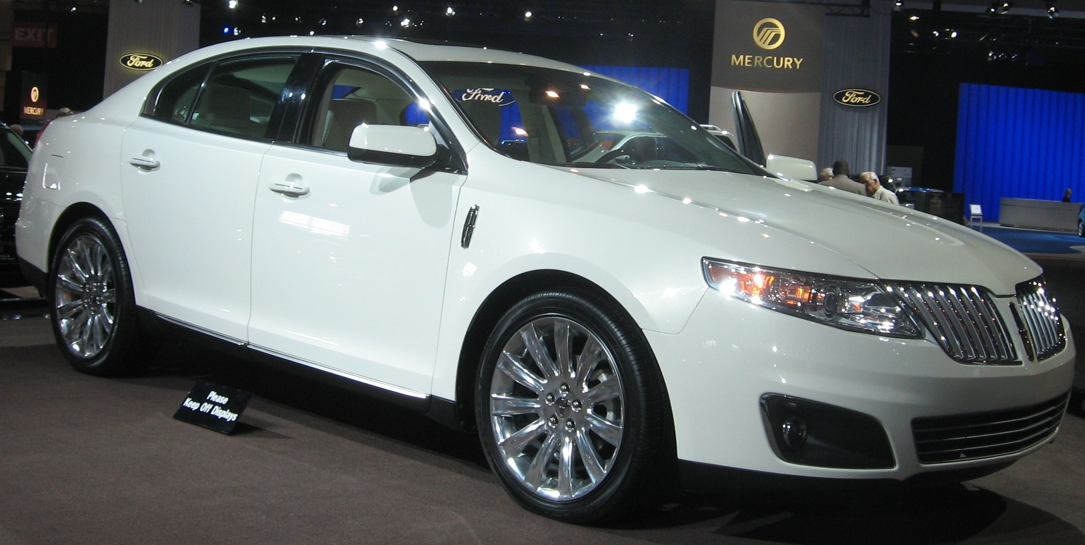 2016 Lincoln Mkt >> File:2009 Lincoln MKS DC.JPG - Wikimedia Commons