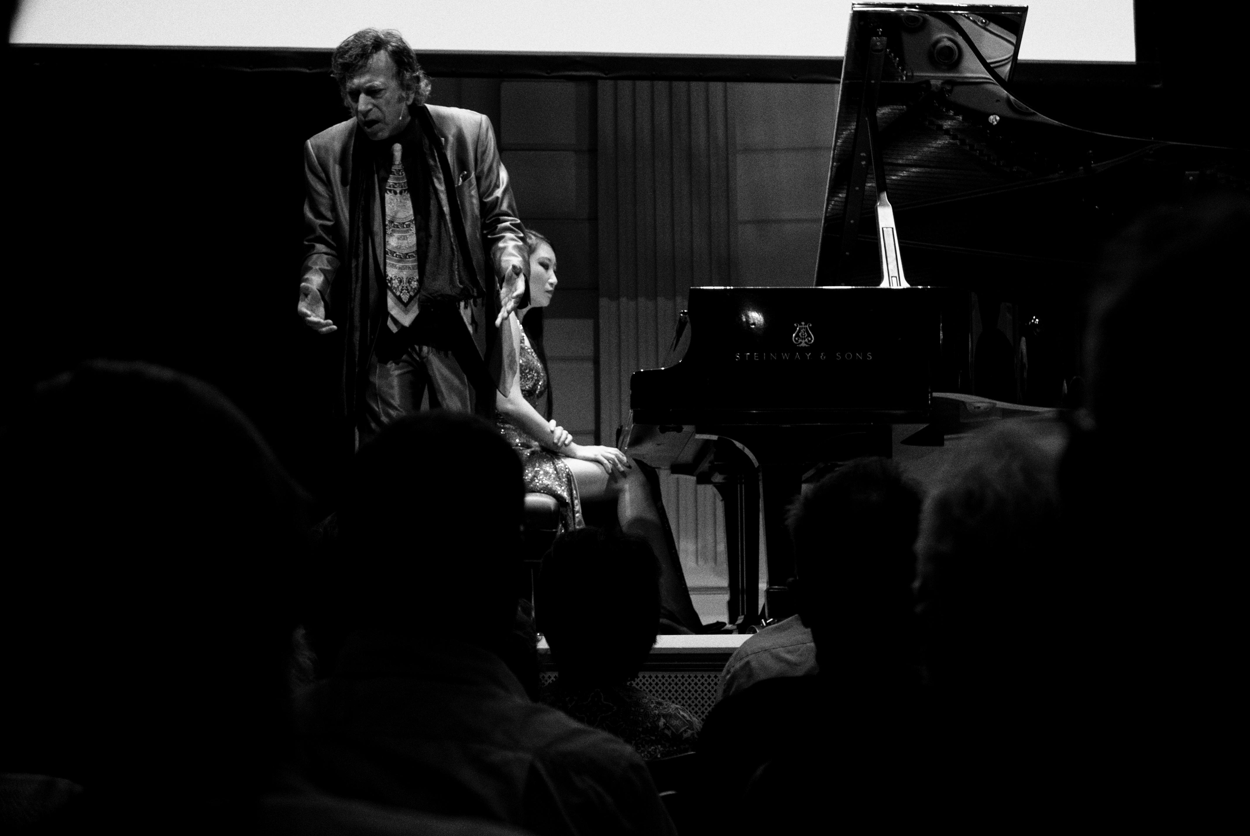 David Dubal at the [[Concertgebouw
