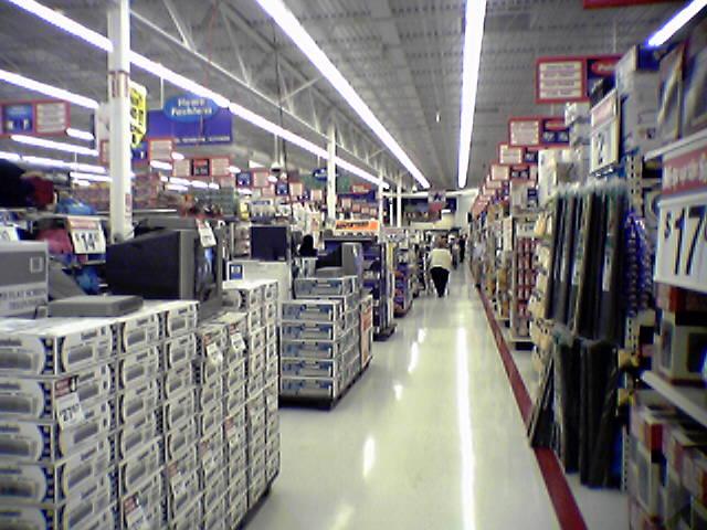 File Action Alley In Walmart Supercenter In Bedford