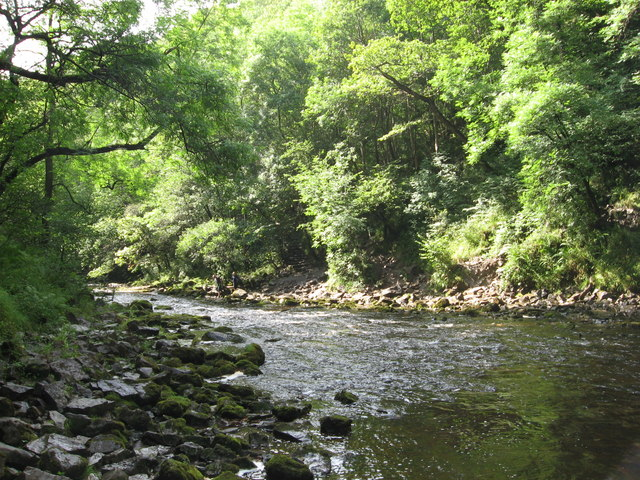 Afon Hepste - geograph.org.uk - 1445230