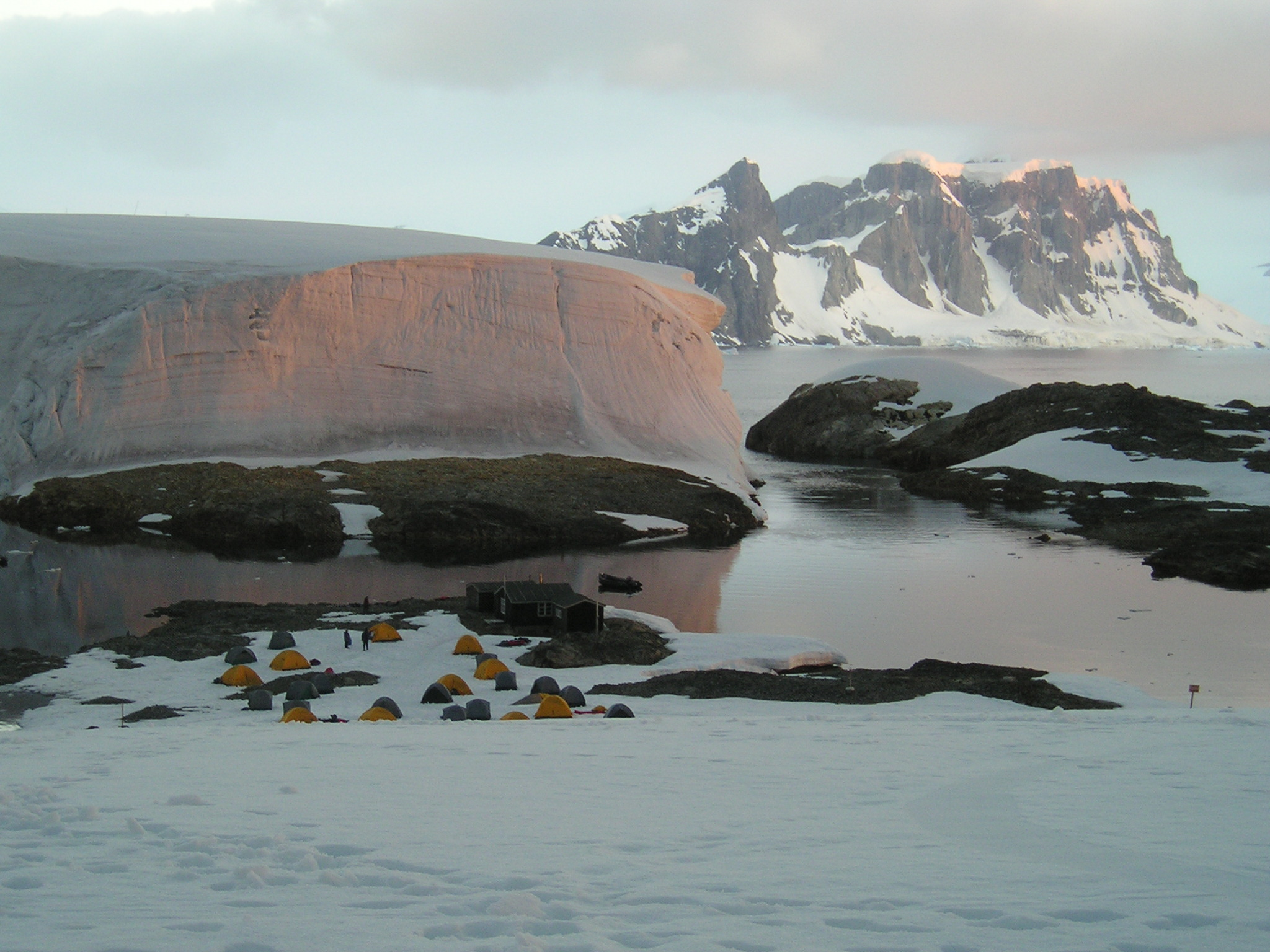 File:Antarctic twilight - Winter Island (Base F).jpg