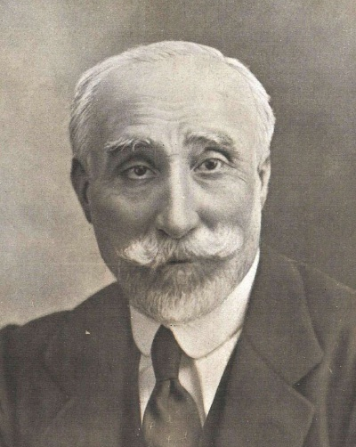 Detalle de fotografía de Kaulak publicada en 1917 en La Esfera.
