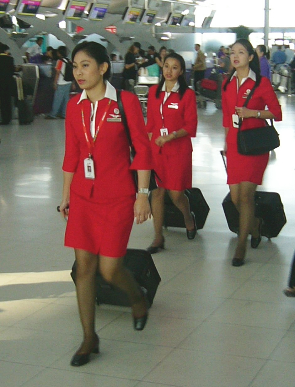 file asian flight attendants jpg file asian flight attendants jpg