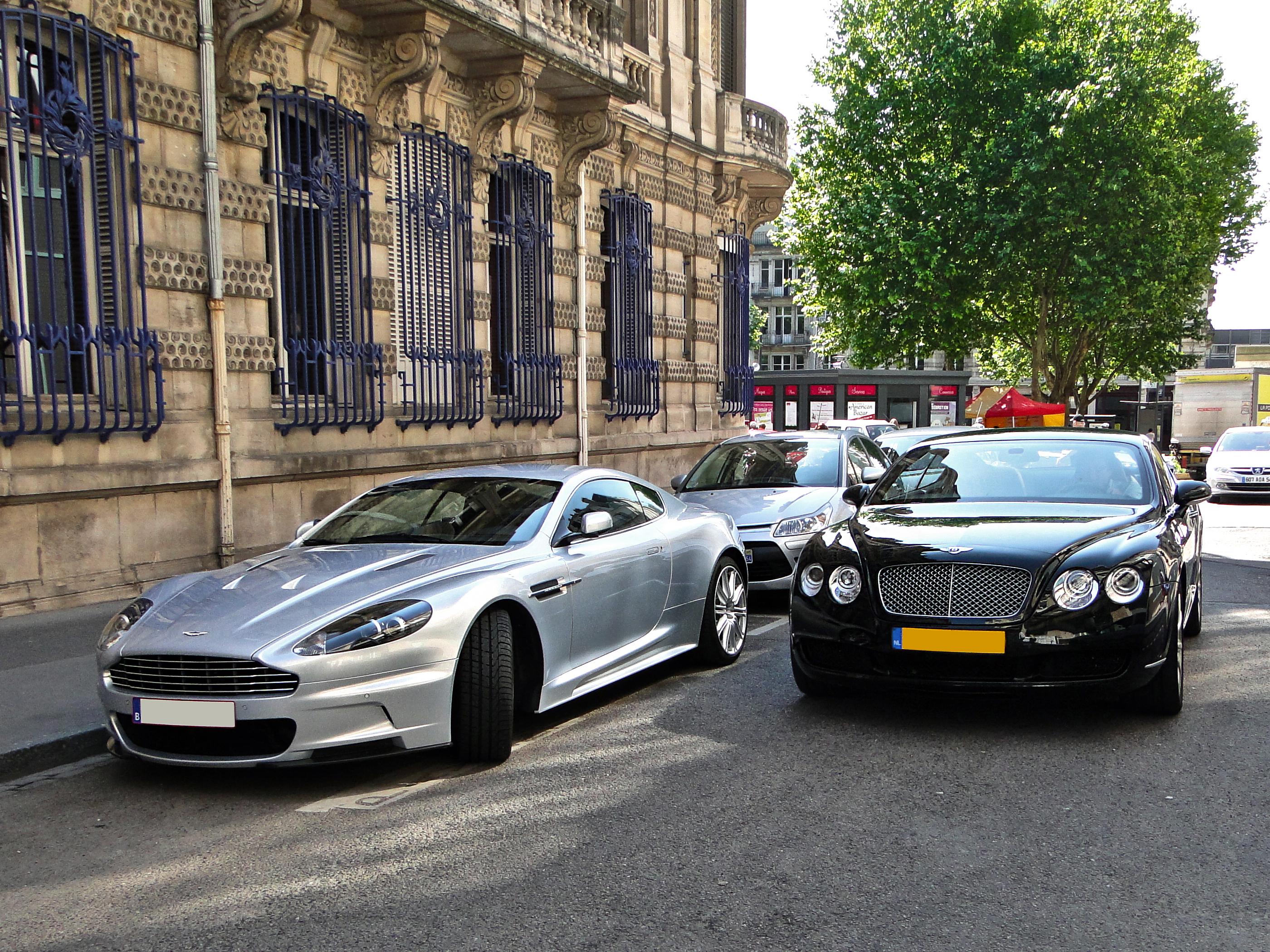 File Aston Martin Dbs Bentley Continental Gt Flickr Alexandre Prévot Jpg Wikimedia Commons