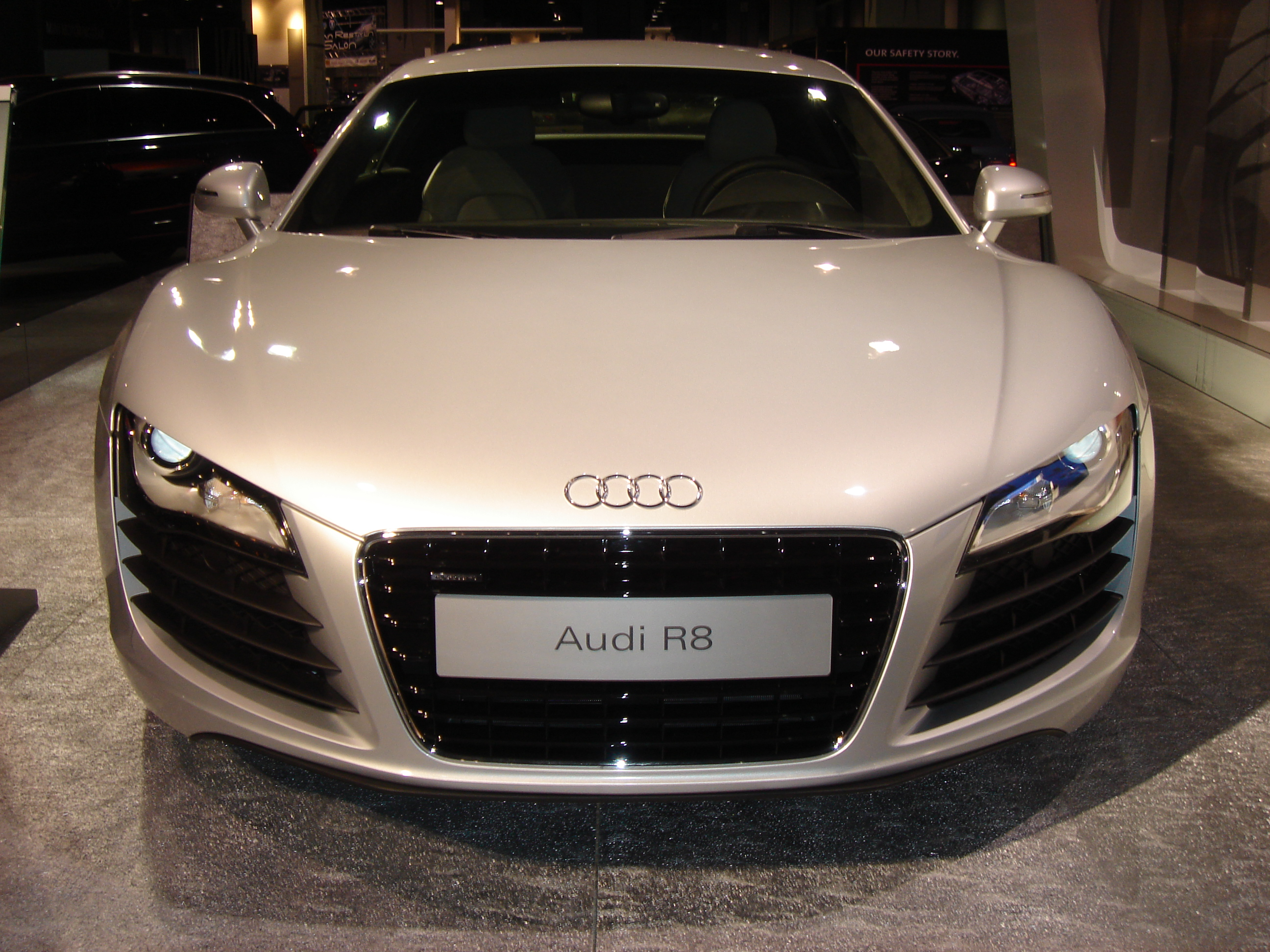File Audi R8 Front Jpg Wikimedia Commons