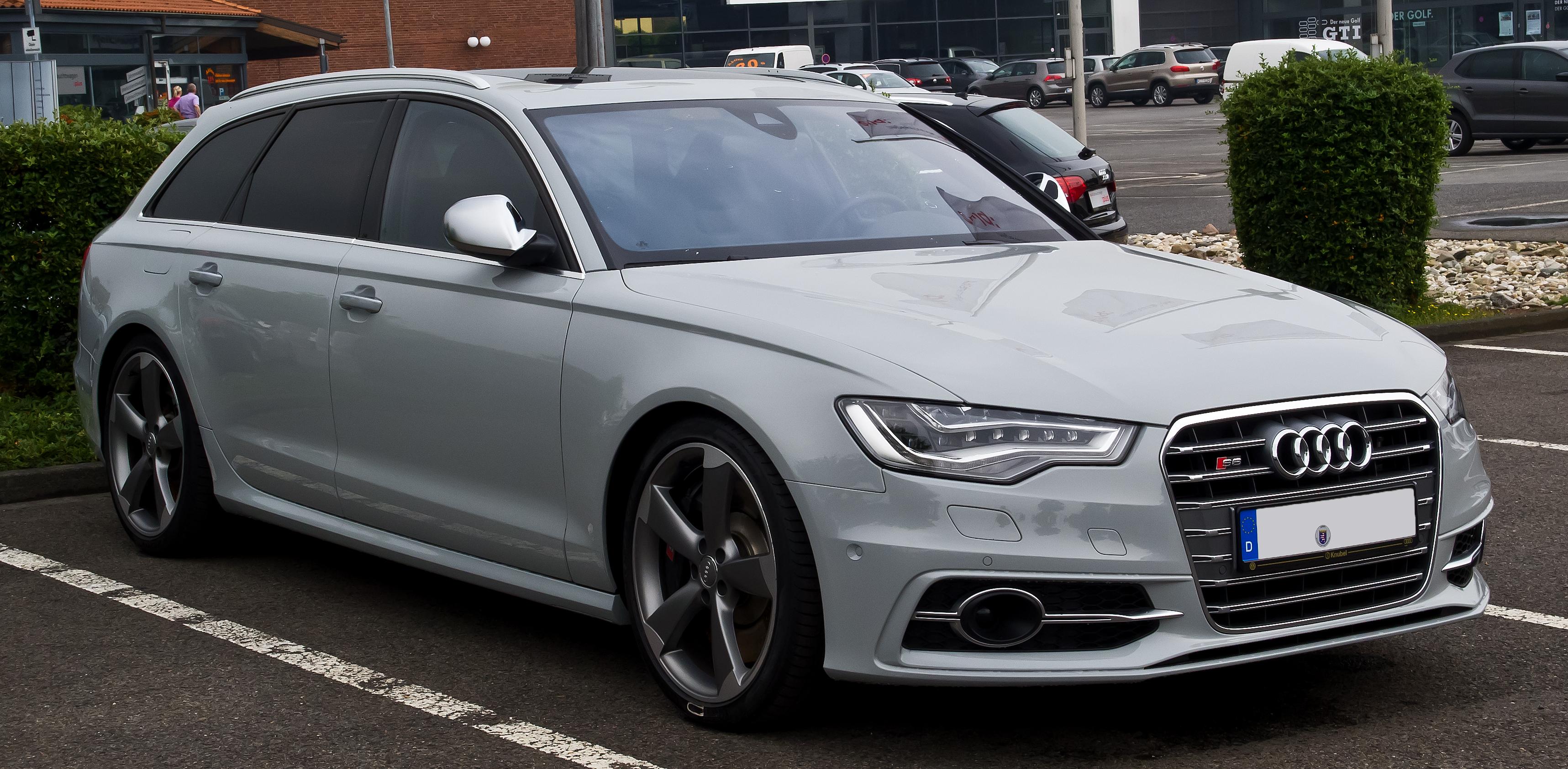 File Audi S6 Avant C7 Frontansicht 7 September 2013