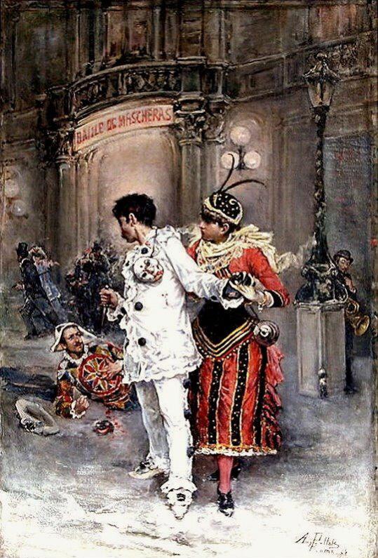 1884 Source http://www.ebay.de/itm/Gemalde-August-Pollak-Un-ballo-di-Maschera-Oper-Verdi-/200711942776?pt=Malerei&hash=item2ebb5d3278 Author August Pollak