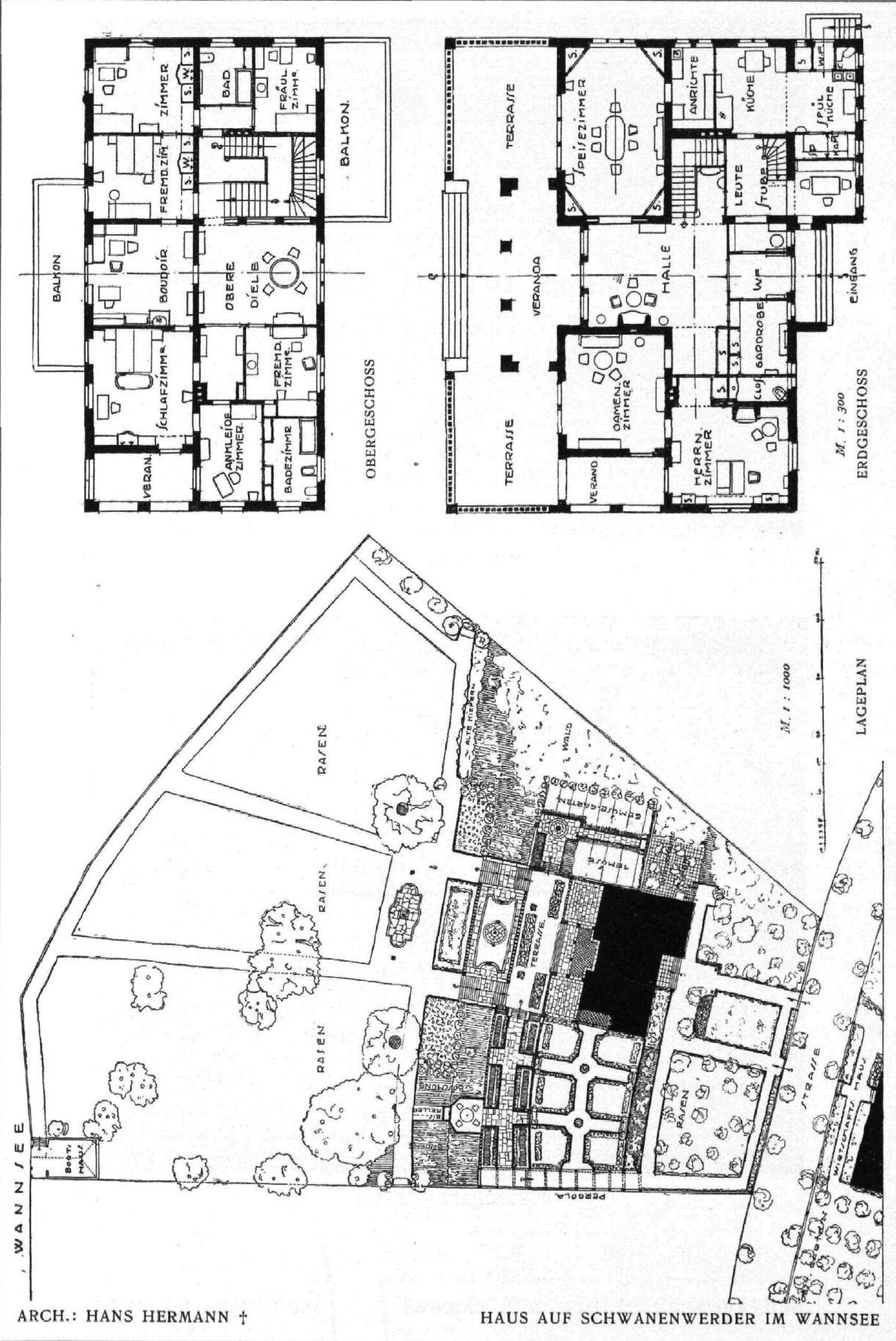 Filebaw 1916 Haus Auf Schwanenwerder Grundriss Wikimedia January 2013 Schematic Diagram Current 1831 14 Thumbnail For