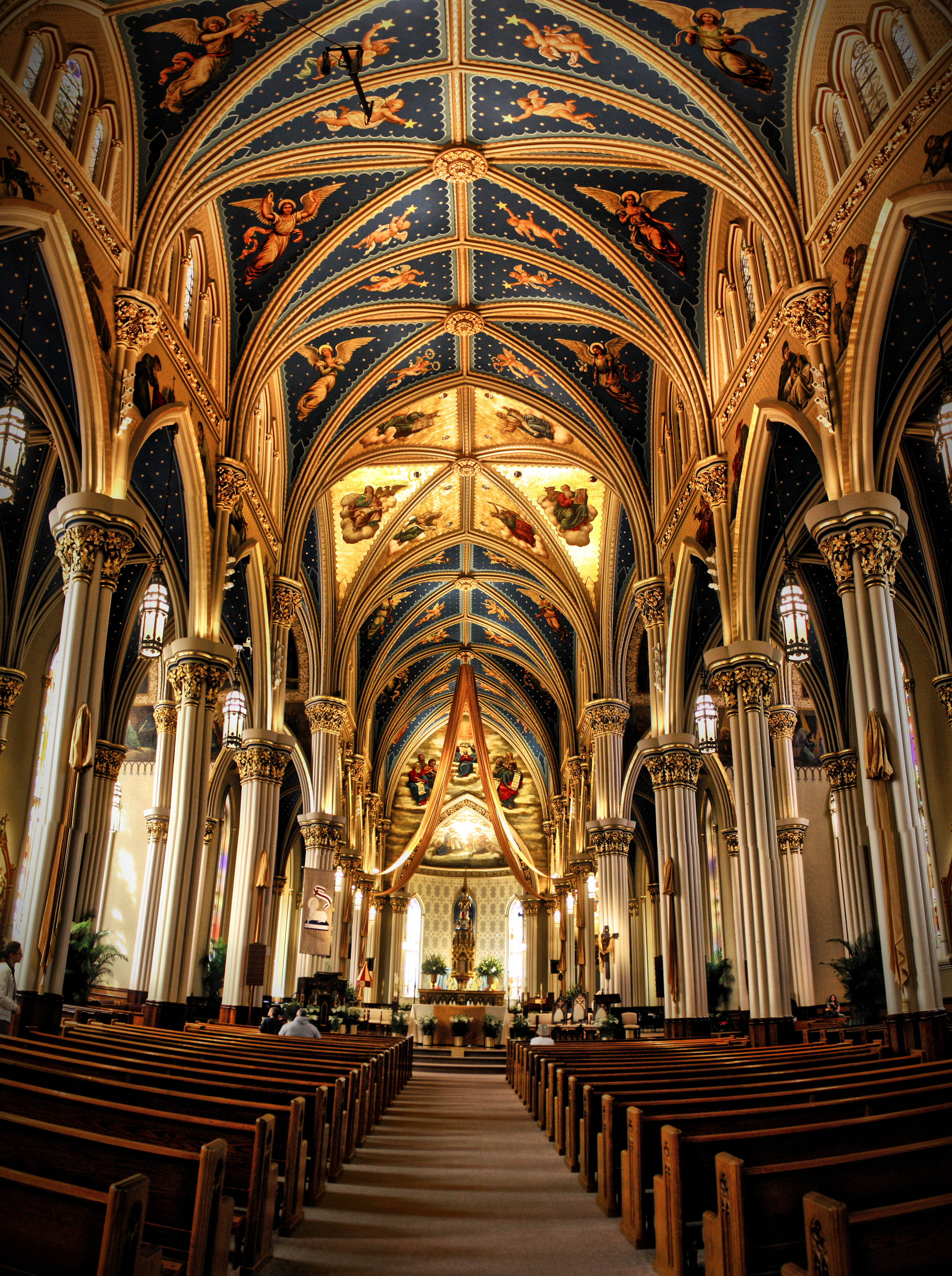 File:Basilica of the Sacred Heart, University of Notre ...