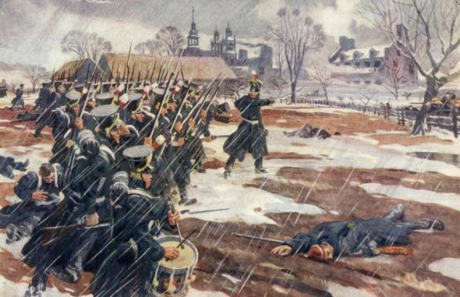In 1837, were the Canadian rebels justified in taking up arms against the official government?
