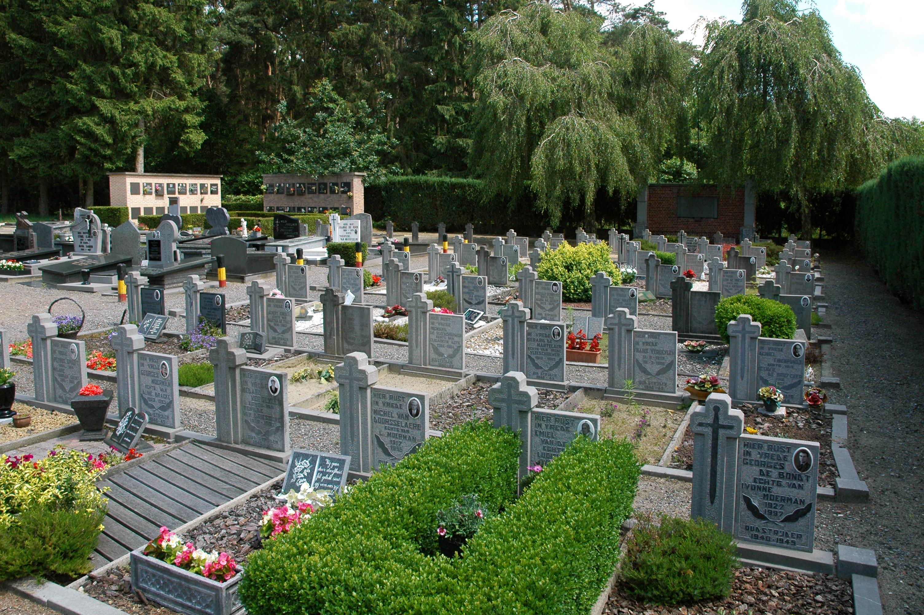 Uitbreiding begraafplaatsen