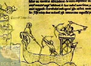 Fichier:Belagerung von Damiette 1218.jpg