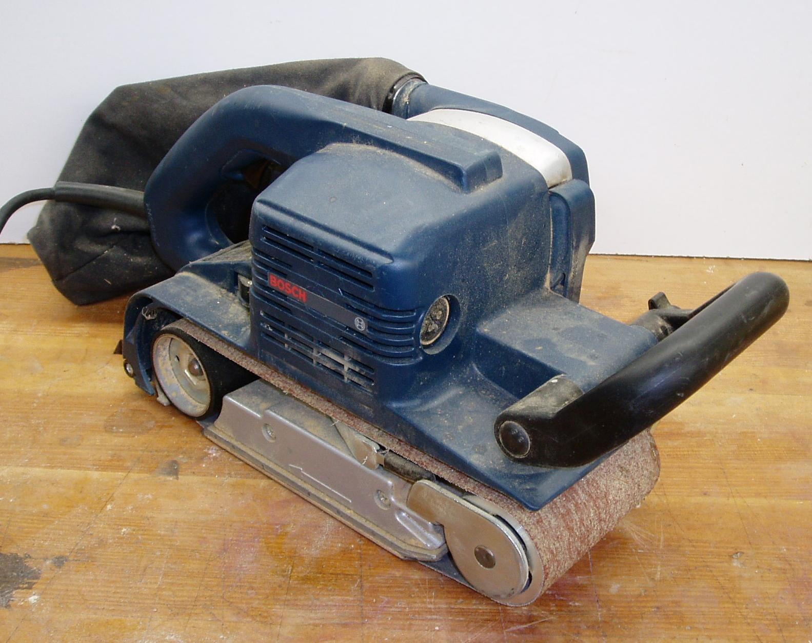 File:Belt sander bosch.jpg - Wikimedia Commons