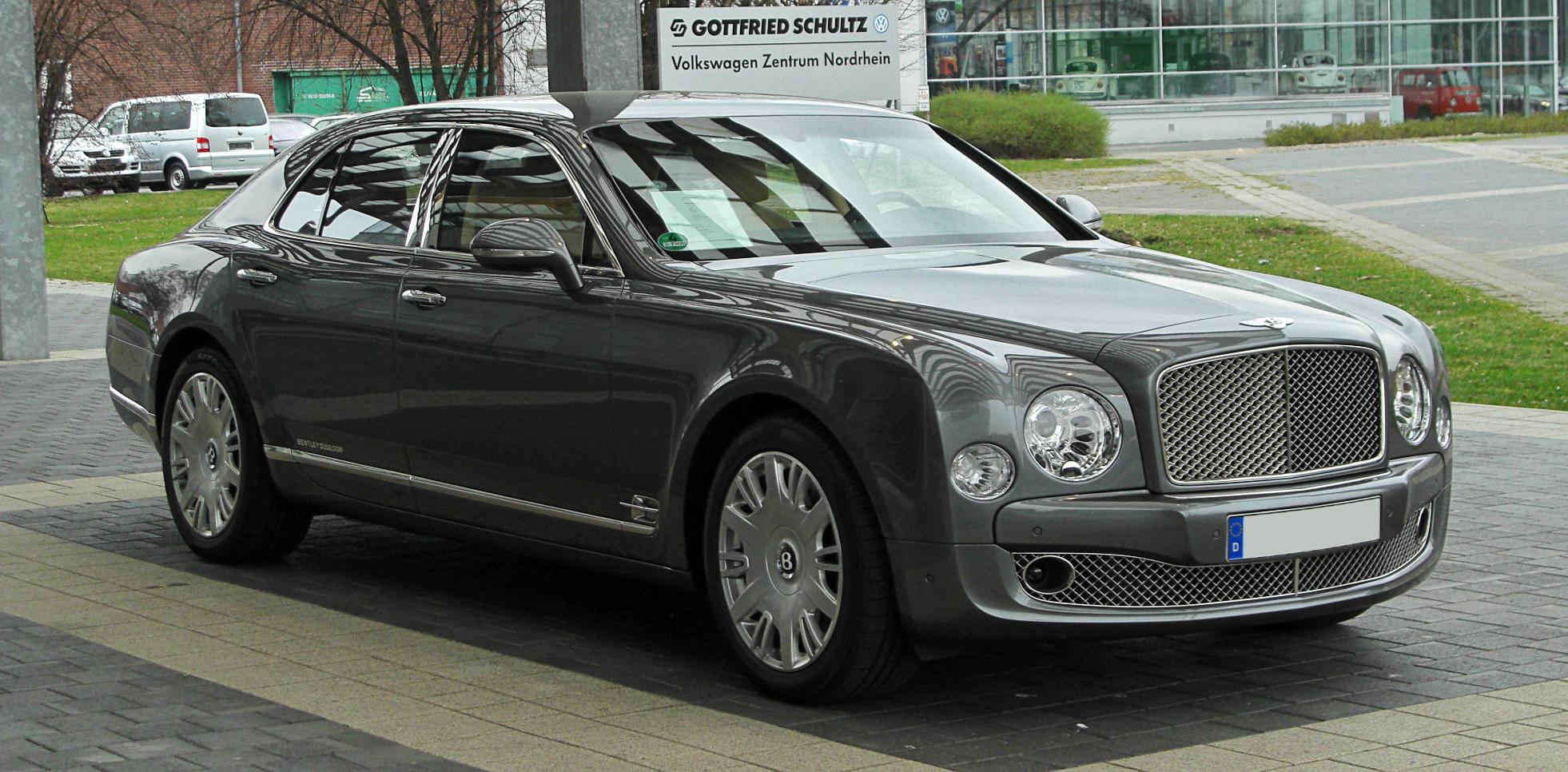 File Bentley Mulsanne Frontansicht 26 M 228 Rz 2011