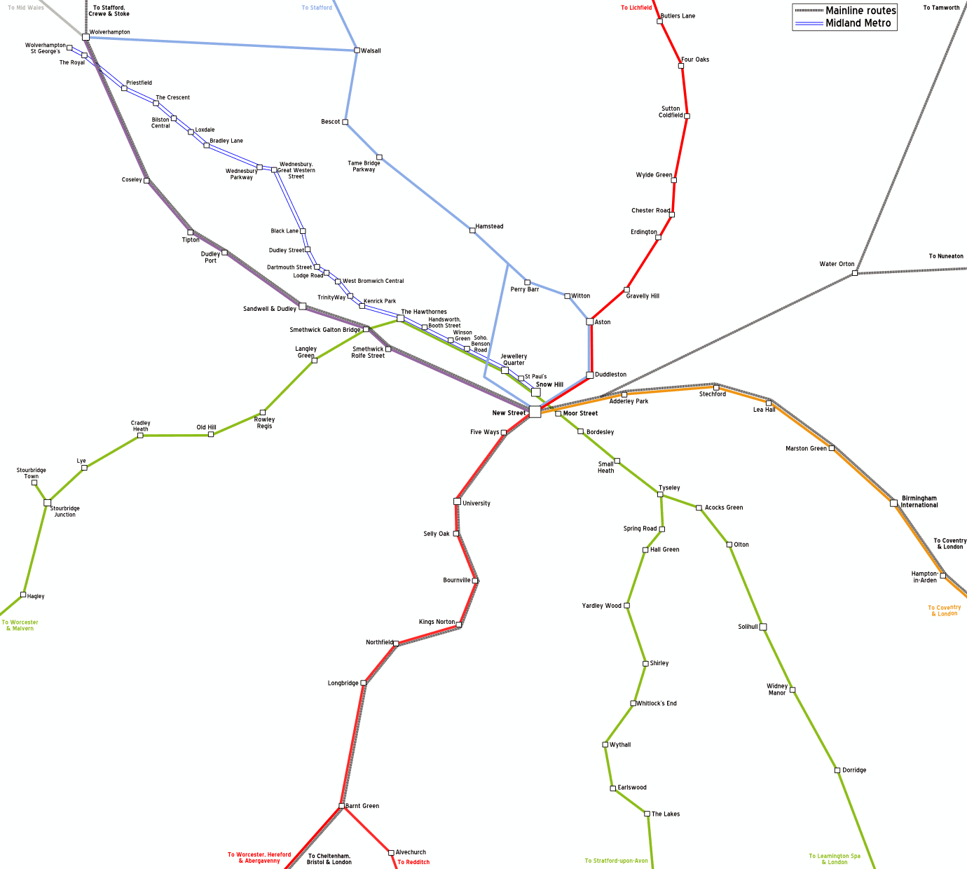 Birmingham Rail Map File:Birmingham rail map.png   Wikimedia Commons