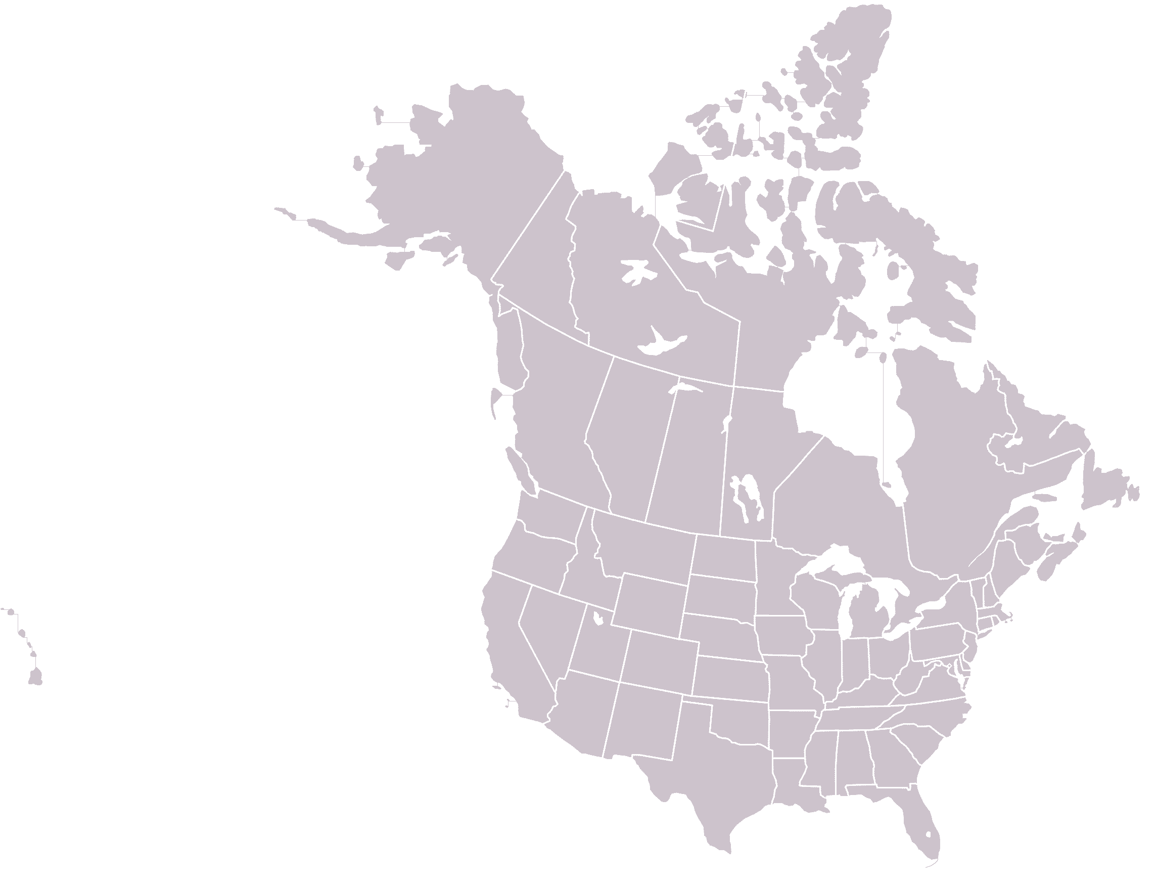 North America Political Outline Map%0A Summary edit