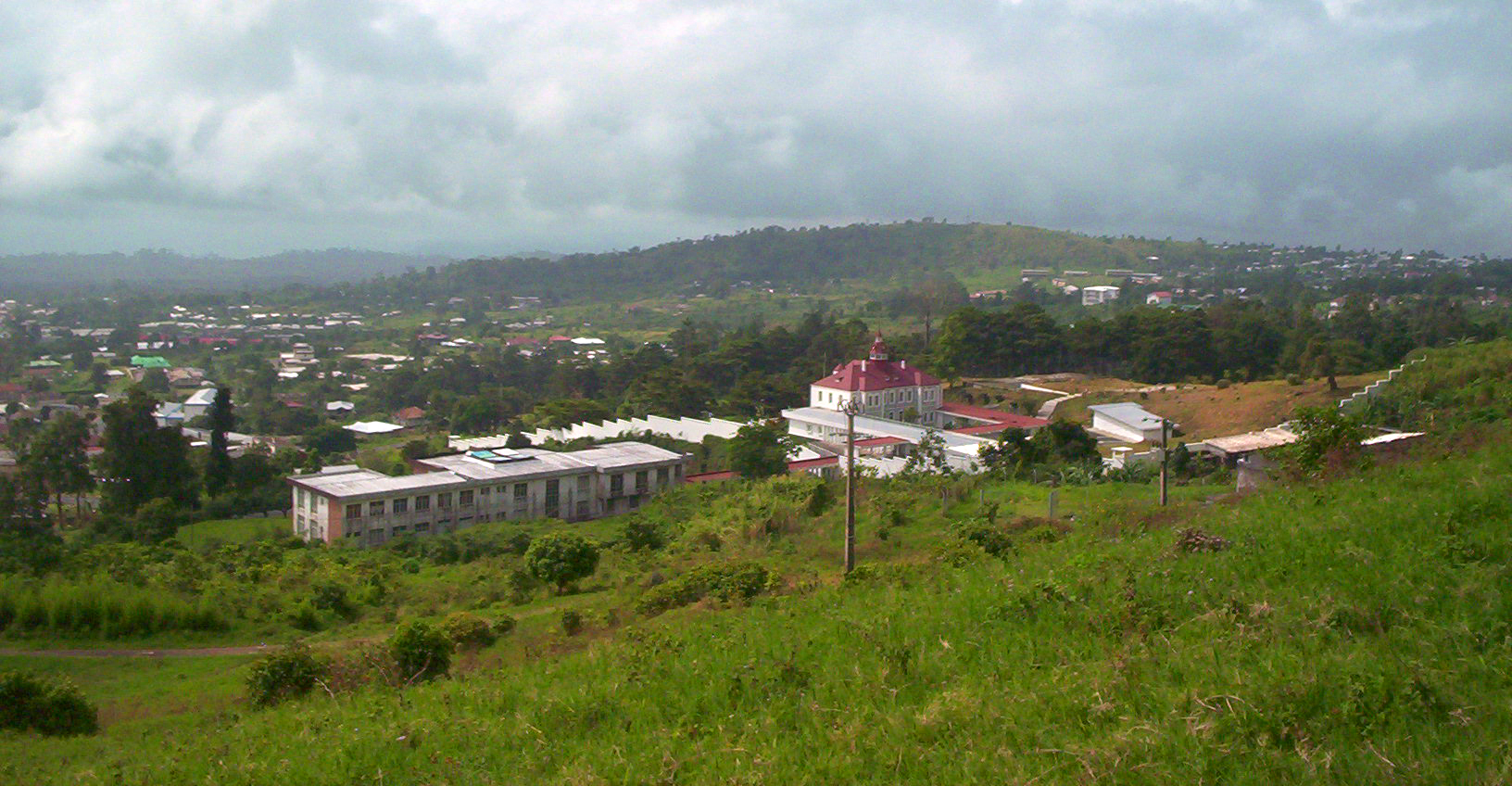 Buea from Fako Bakweri People:  Ancient Fierce Fighters, Traditionally Spiritual, Custom-Abiding And Agrarian Bantu People Of Mount Cameroon