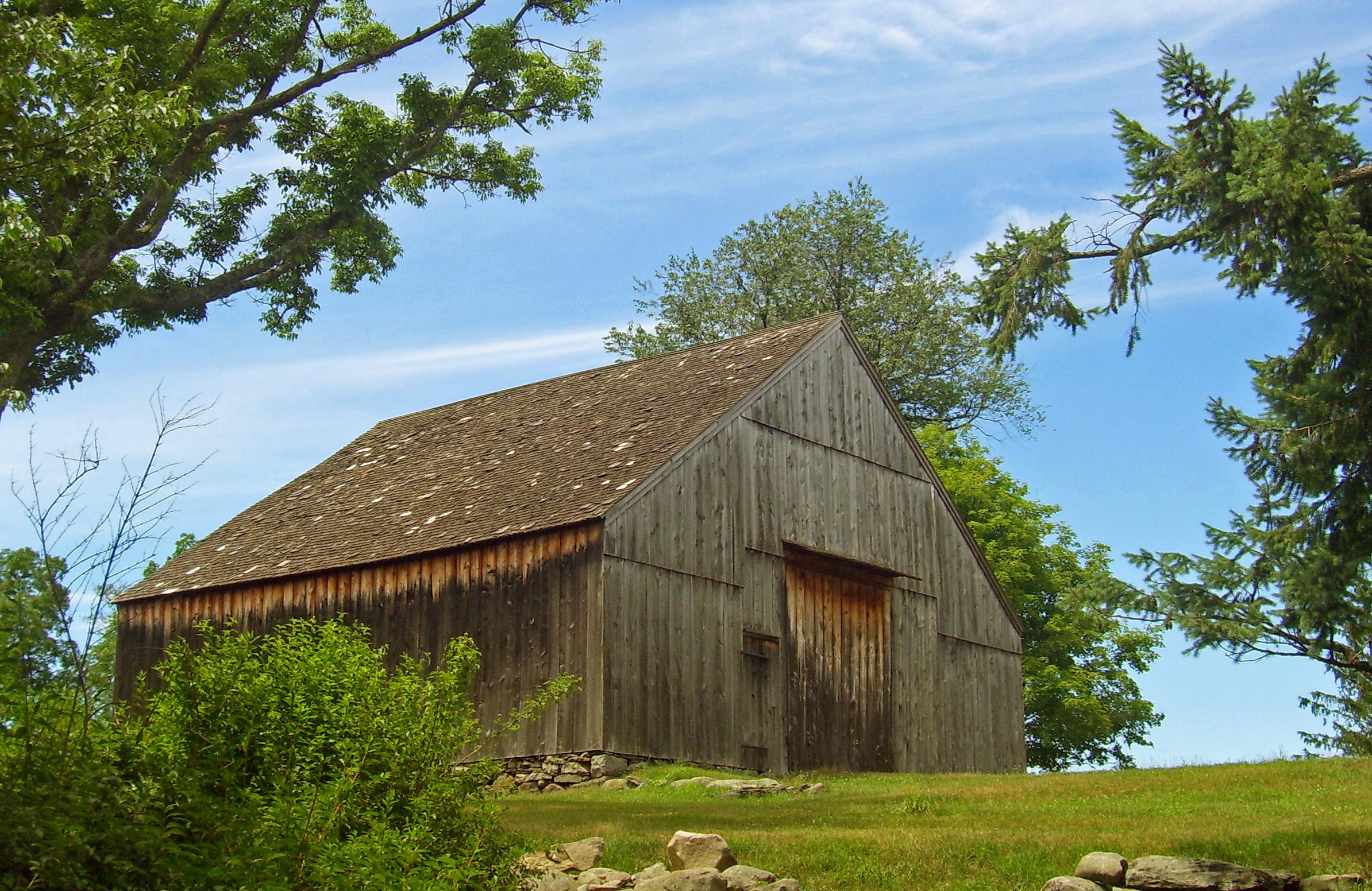File bull stone house new world dutch barn hamptonburgh for Dutch barn shed plans