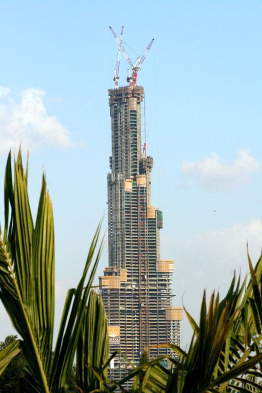 برج خليفة فى الامارات Burjdubaijanuary07