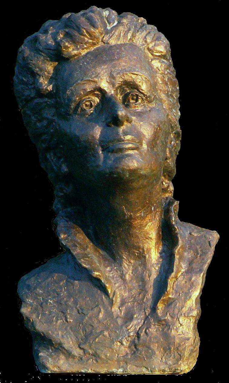Busto de Édith Piaf.